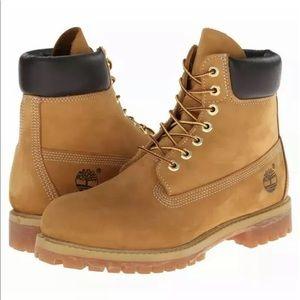 Timberland Boots Premium 6 Inch Classic Wheat